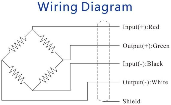 4 wire load cell wiring diagram 6 wire load cell wiring diagram