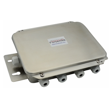 Active load cell junction box signal summing