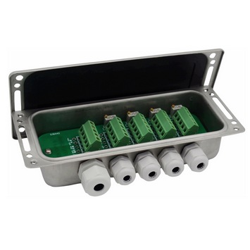 Load cell summing box signal trimming